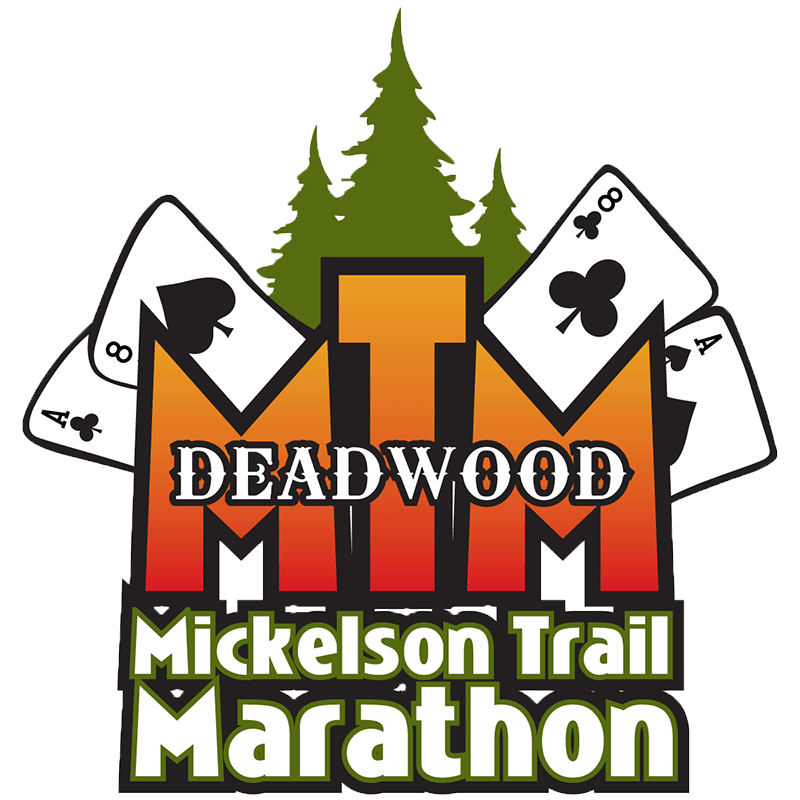 Deadwood Mickelson Trail Marathon logo
